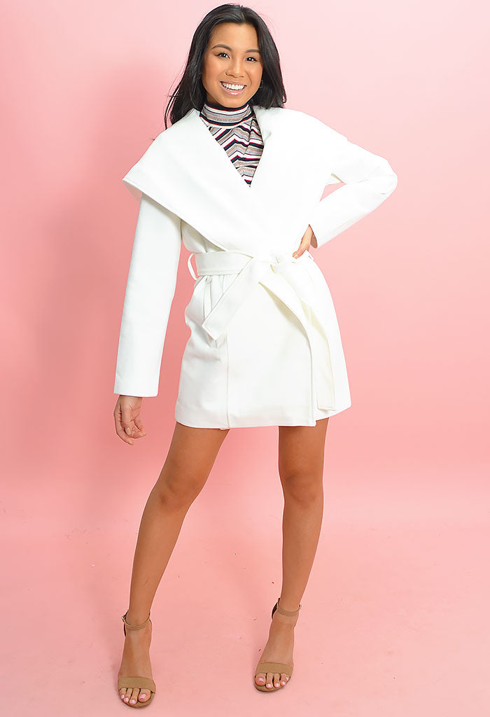 Take Cover Coat - Ivory