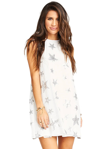 Show Me Your Mumu Gomez Mini Dress - Star Bright Star Light