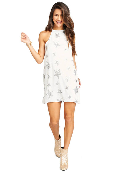 Gomez Mini Dress - Star Bright Star Light