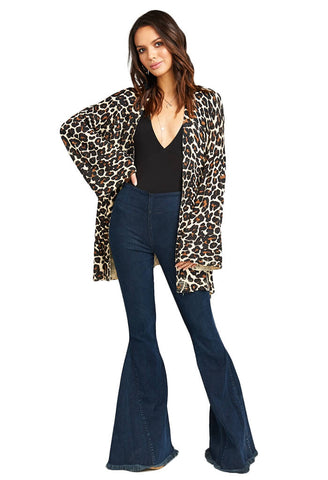 Easy Cardi - Cheetah Club Knit