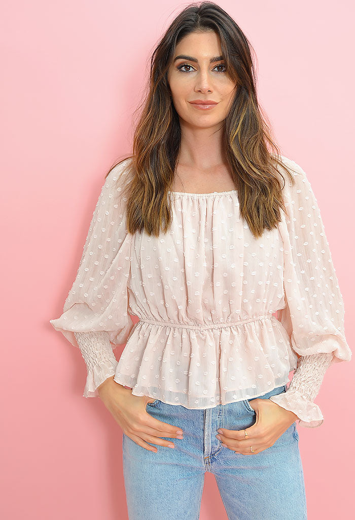 First Blush Blouse