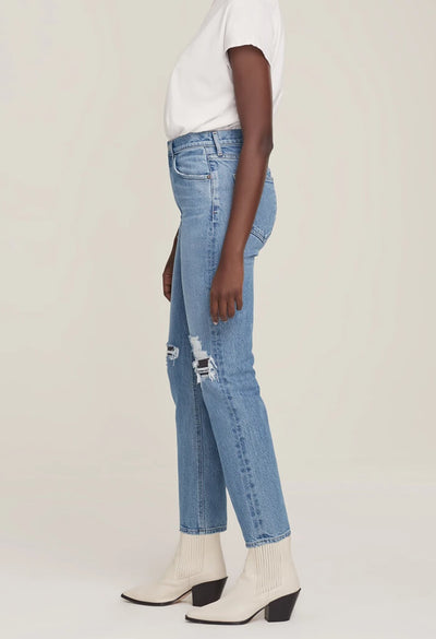 Agolde Wilder Mid Rise Comfort Jean in Whiplash-side
