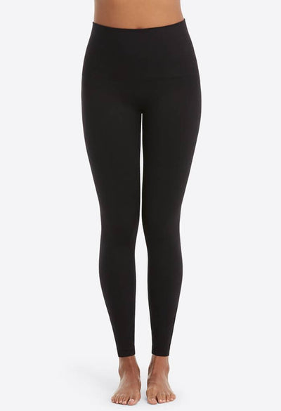 Spanx Look at me Now Seamless Leggings in Very Black-front