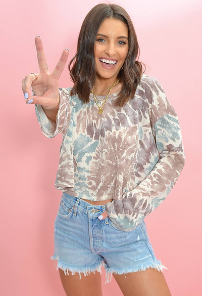 KK Bloom Boutique Tie Dye Dream on Top-front
