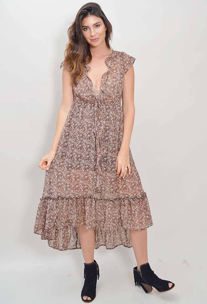 Gillian Maxi Dress - Ditzy