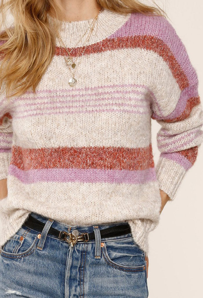 Cecily Sweater-Feather