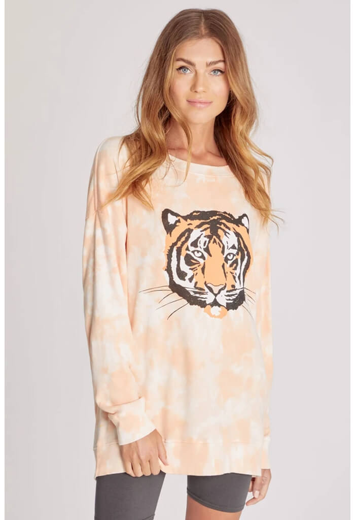Wildfox Roadtrip Sweatshirt-La Tigre-front
