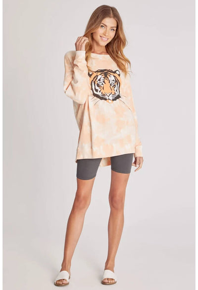 Wildfox Roadtrip Sweatshirt-La Tigre-full length
