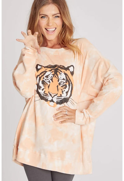 Wildfox Roadtrip Sweatshirt-La Tigre-prowl