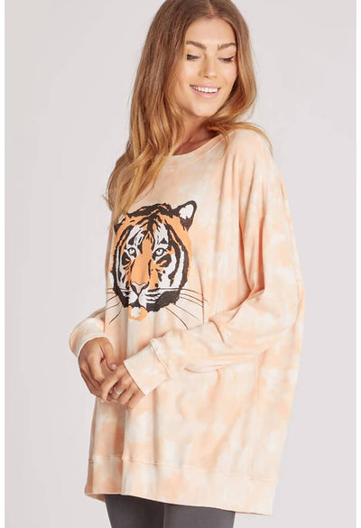 Wildfox Roadtrip Sweatshirt-La Tigre-angle