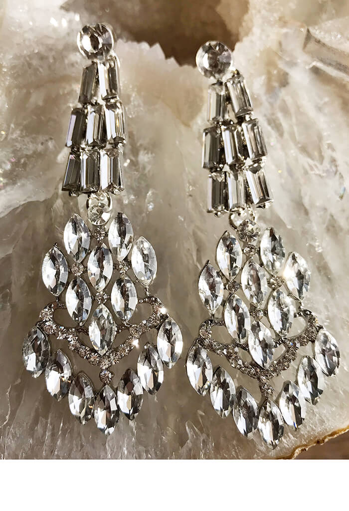 Ivy Crystal Earring