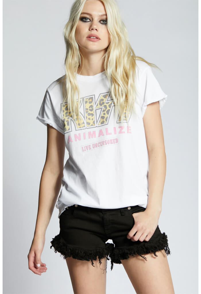 Recycled Karma KISS Animalize Graphic Tee