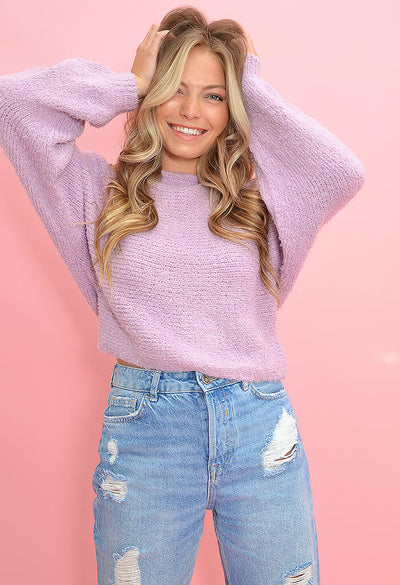 Cupcakes & Cashmere Perri Sweater in Violet