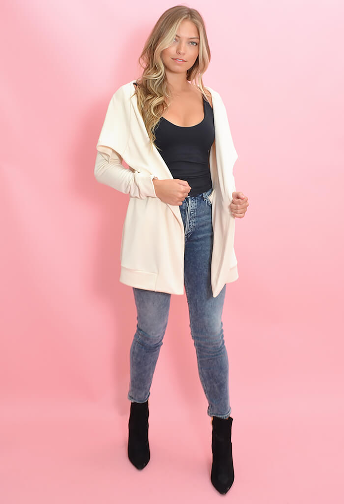 BB Dakota Rain Shadow Cardigan in Oatmeal