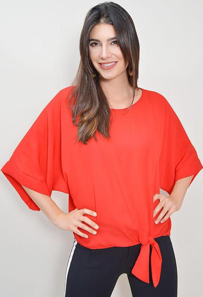 Romeo Blouse - Red