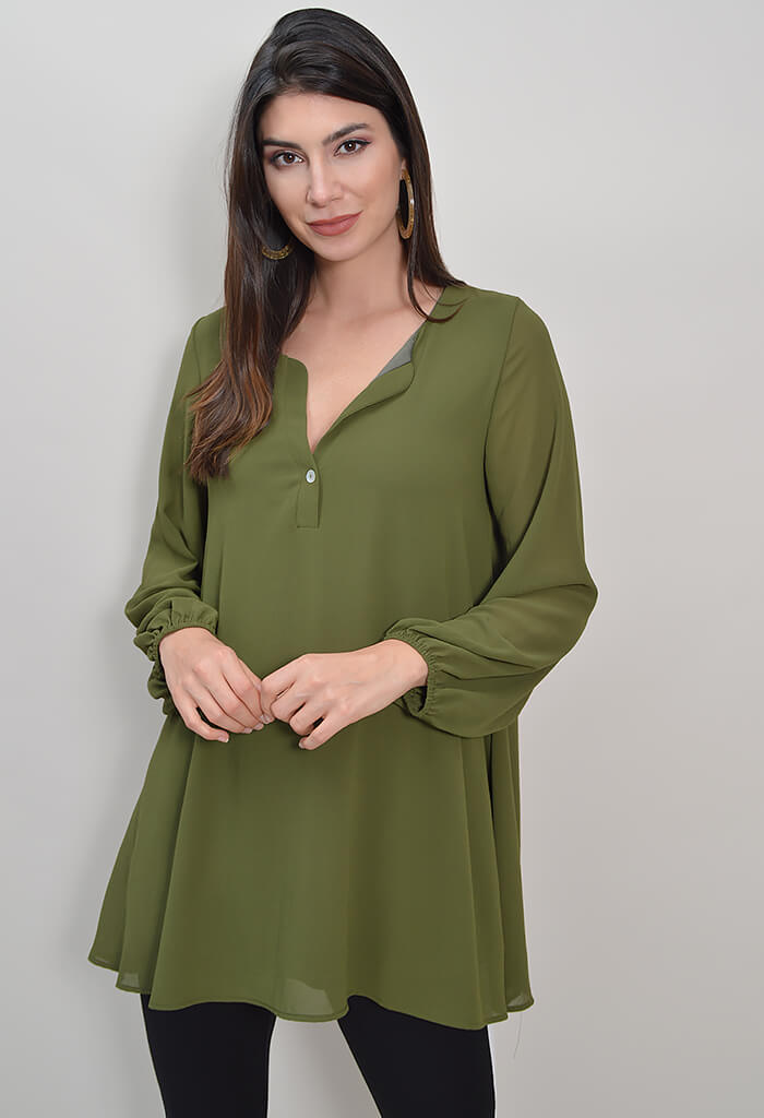 Chelsea Tunic - Olive