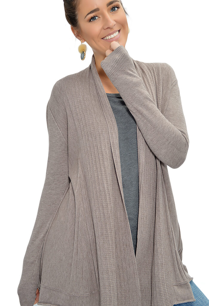 Dream Cardigan - Taupe