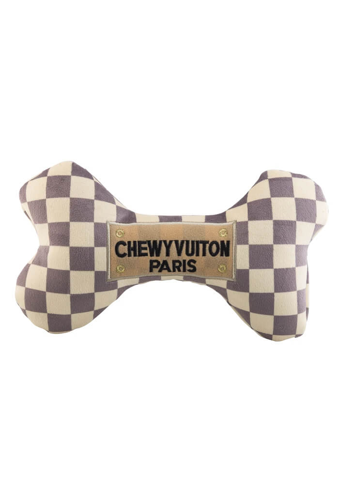 Haute Diggity Dog Checker Chewy Vuiton Bone-XL