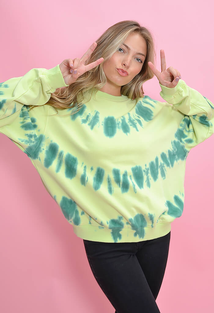 KK Bloom Boutique Pistachio Party Sweatshirt