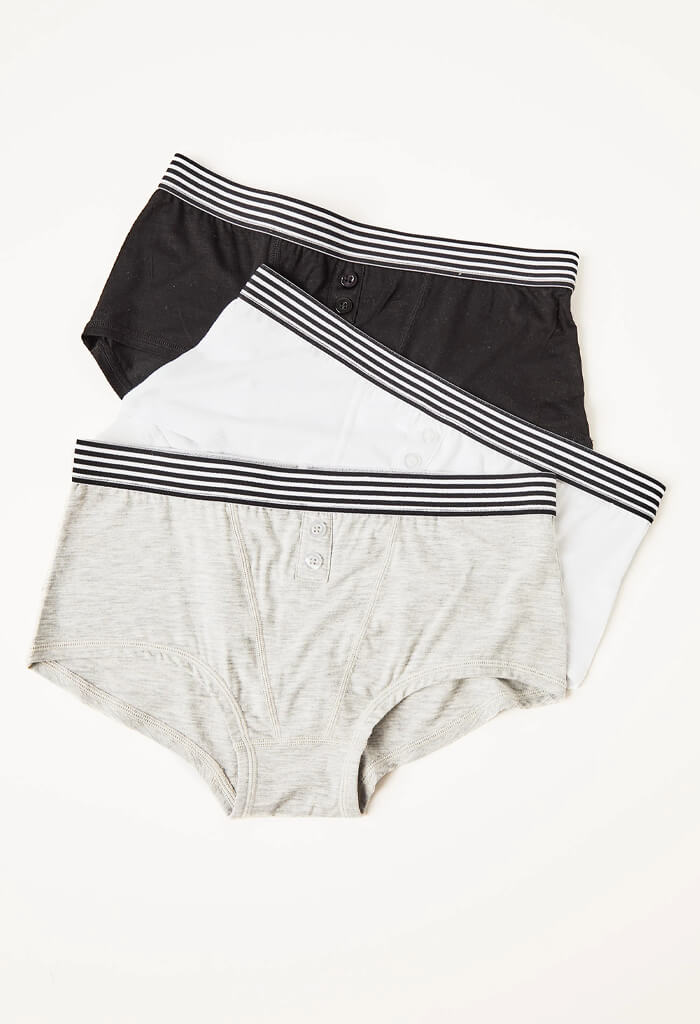 Boy Shorts-3 Pack