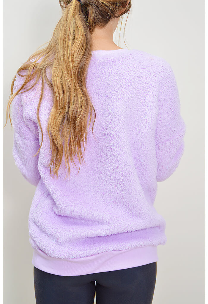 Pillow Talk Pullover - Lavender