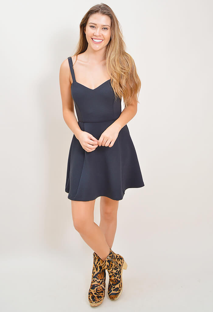 All Night Fit and Flare Dress