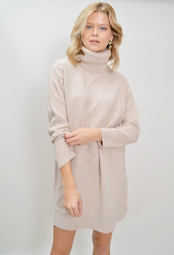 Lesley Cable Knit Tunic