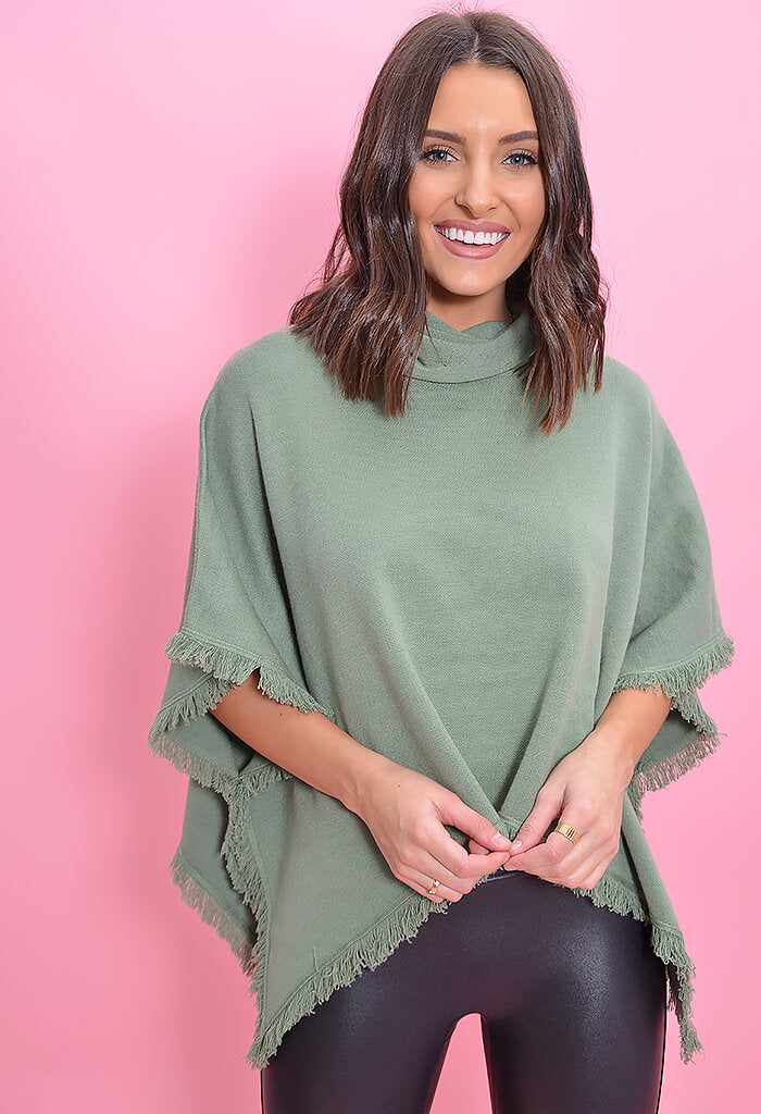 THML Evergreen Poncho