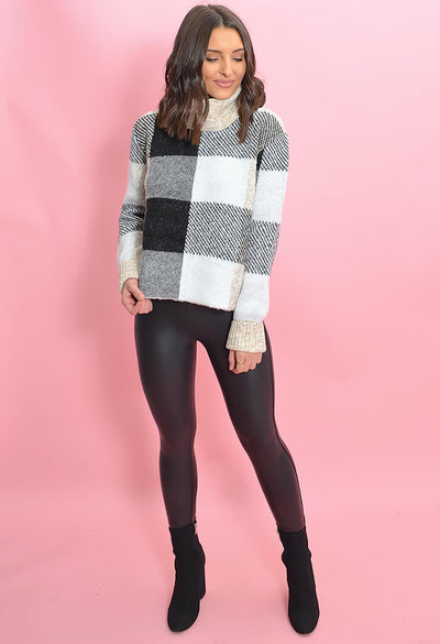 RD Style London Plaid Sweater