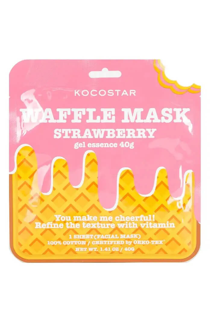 KOCOSTAR Beauty Strawberry Waffle Mask