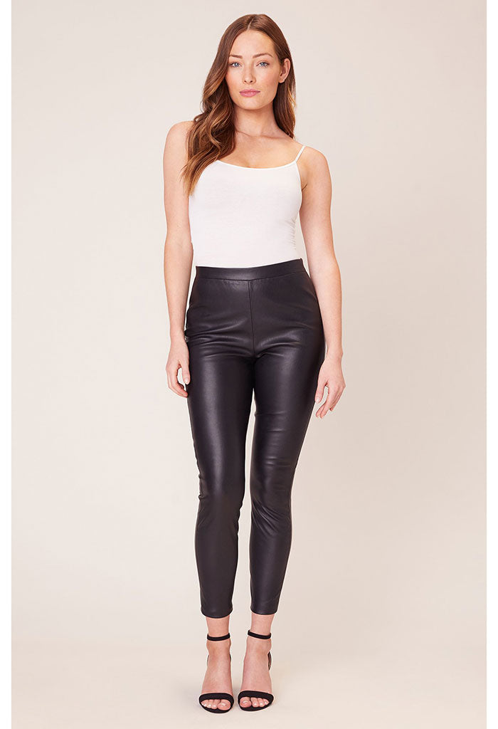 Nice Stems Vegan Leather Leggings