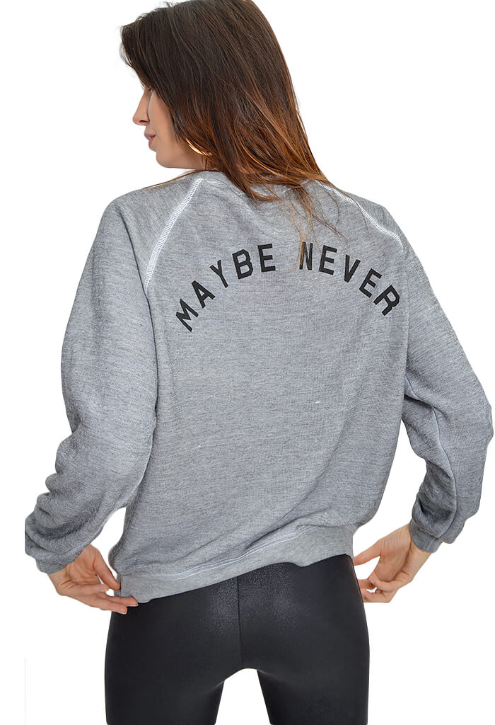 Maybe Later Sweater