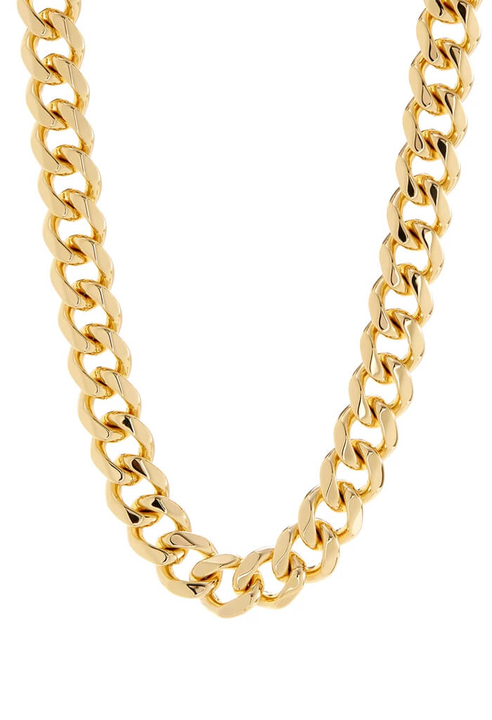 LUV AJ Seraphina Statement Necklace-Gold