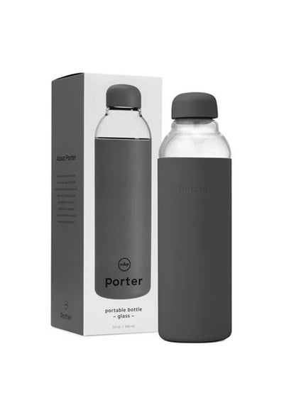 Porter Water Bottle-Charcoal