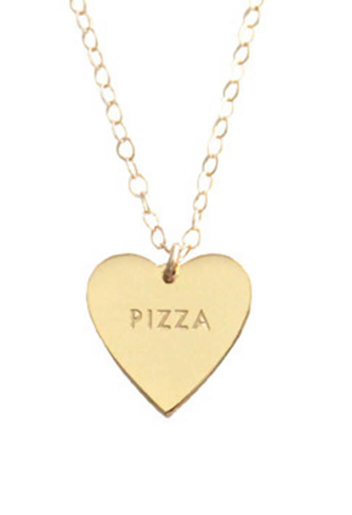 "My Heart Belongs to ""Pizza"" Necklace"