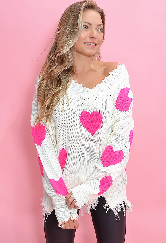 KK Bloom Dream On Sweater-Pink