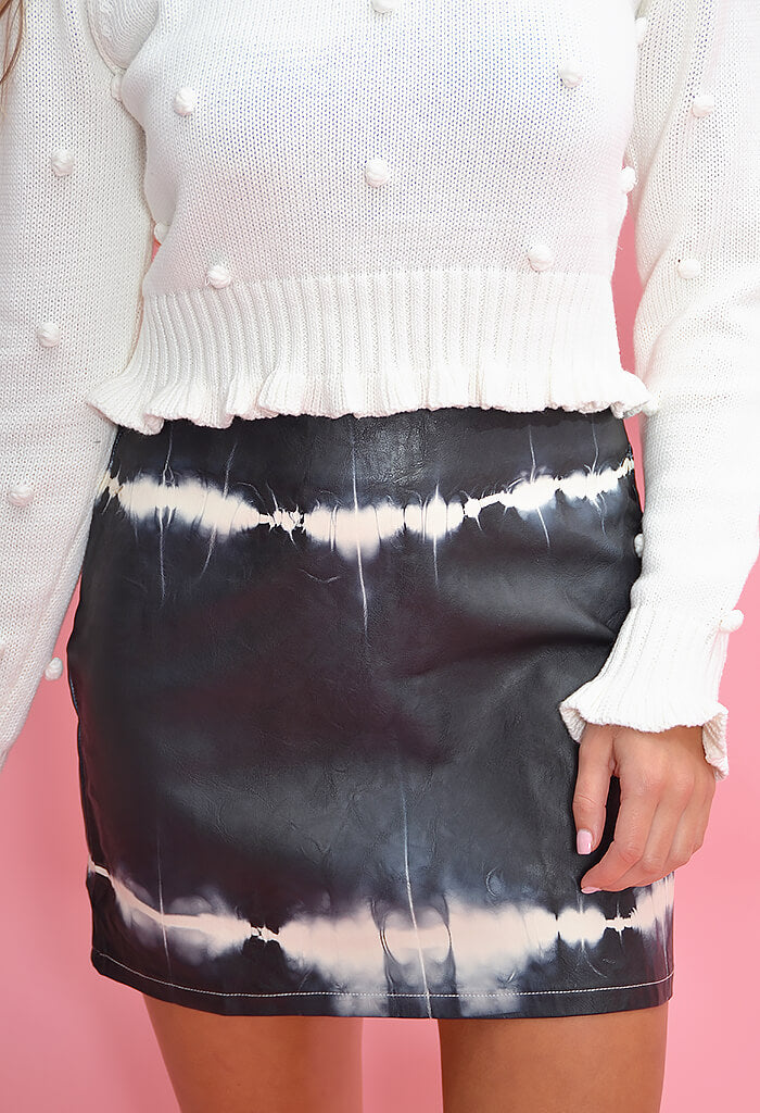 KK Bloom Tie Dye Uptown Skirt