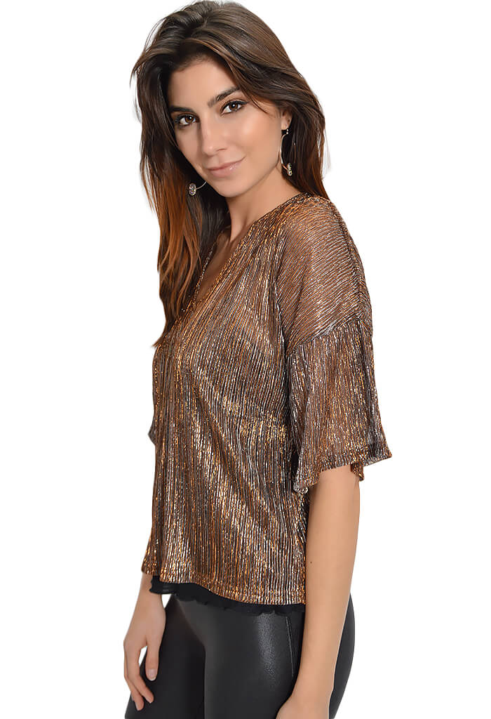 Minkpink Midas Lurex Top - KK Bloom Boutique