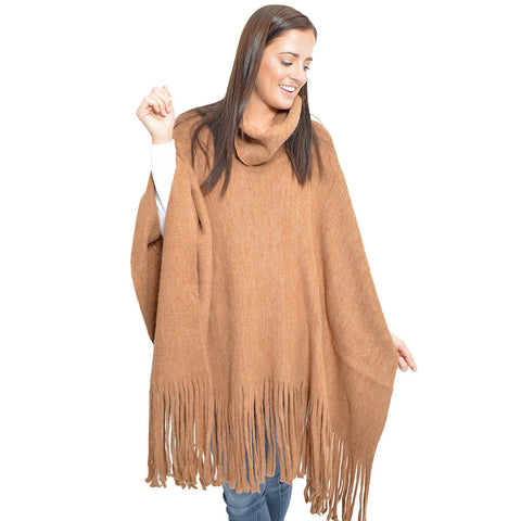 The Everything Poncho-Camel