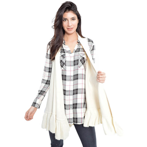 Ebson Plaid Top
