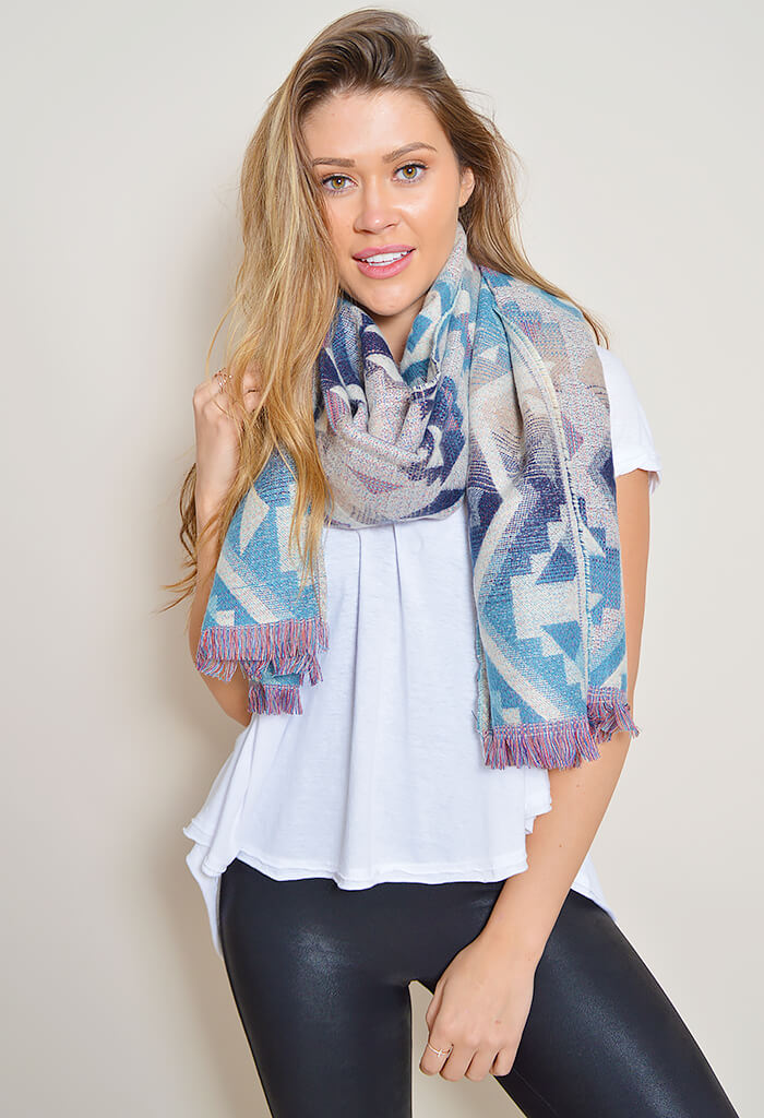 Arizona Fringe Scarf