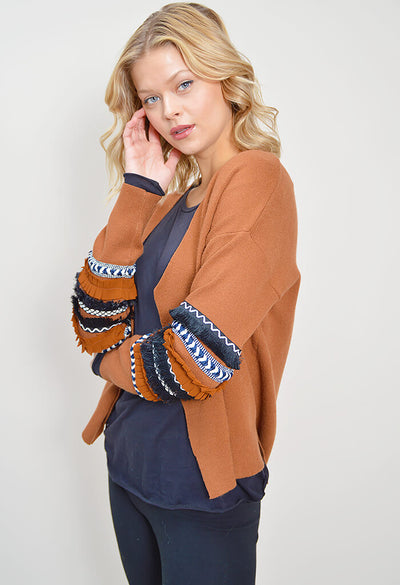 Kimber Cardigan - Brown