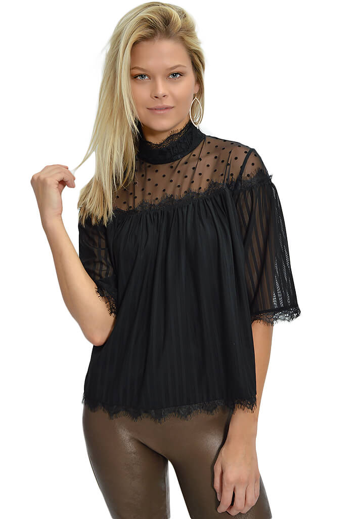 Minkpink Dark Romance Lace Top-KK Bloom Boutique