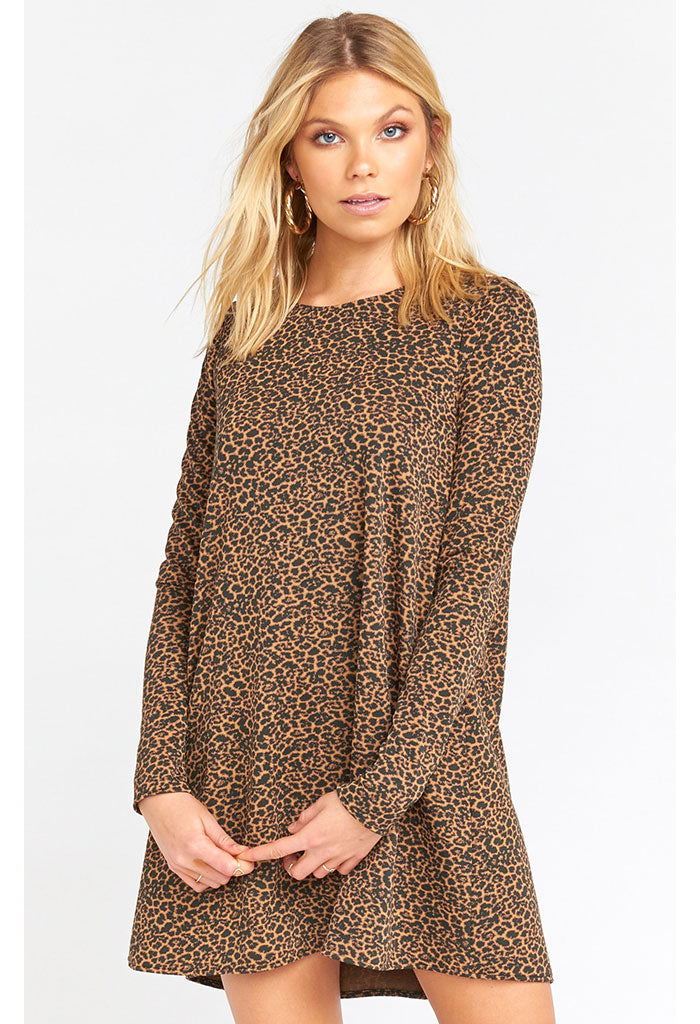 Toby Dress-Nice to Cheetah Stretch