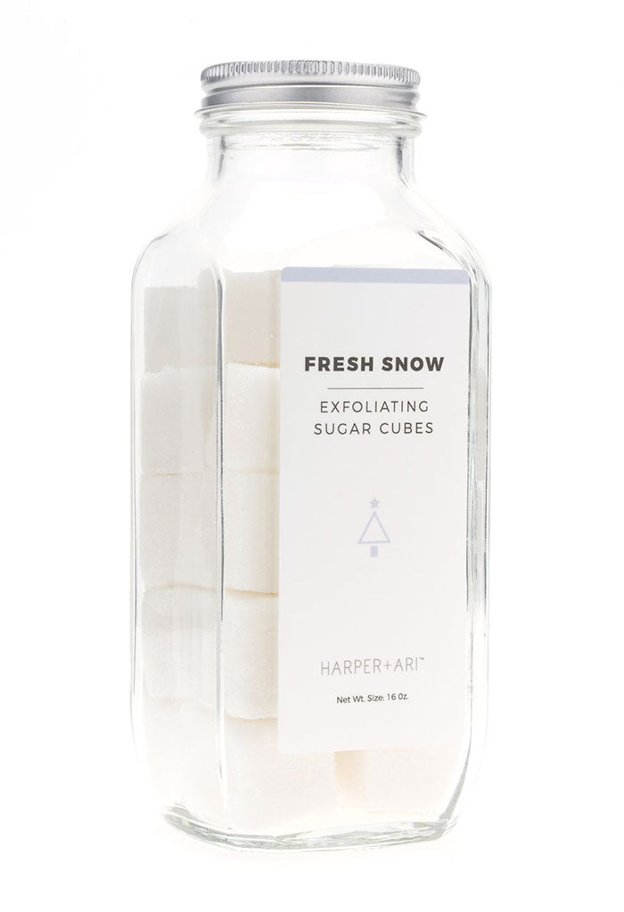 Fresh Snow Exfoliating Sugar Cubes - 16 oz