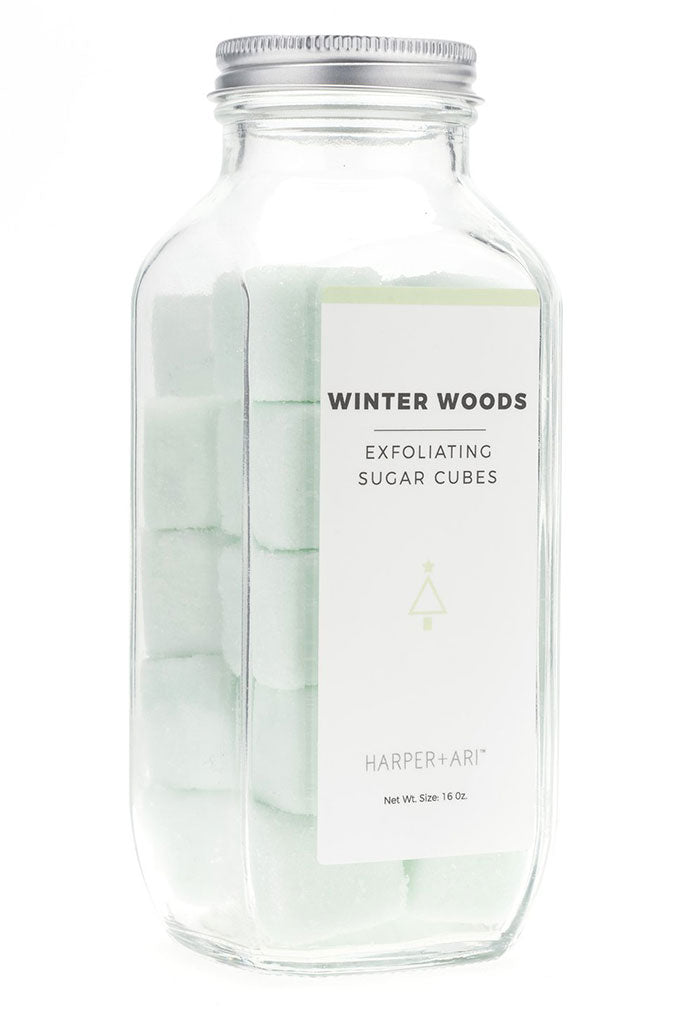 Winter Woods Exfoliating Sugar Cubes-16 oz