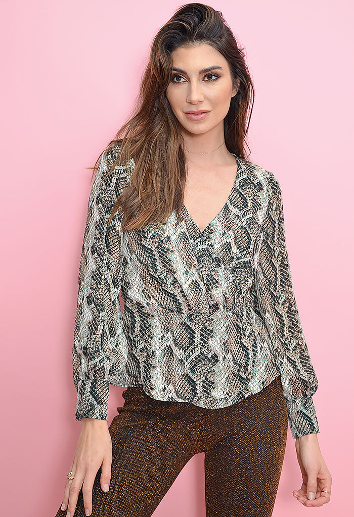 Jasper Blouse - Deep Forest
