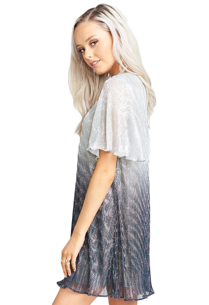 Show Me Your Mumu Jenner Dress ~ Icicle Dip Dye