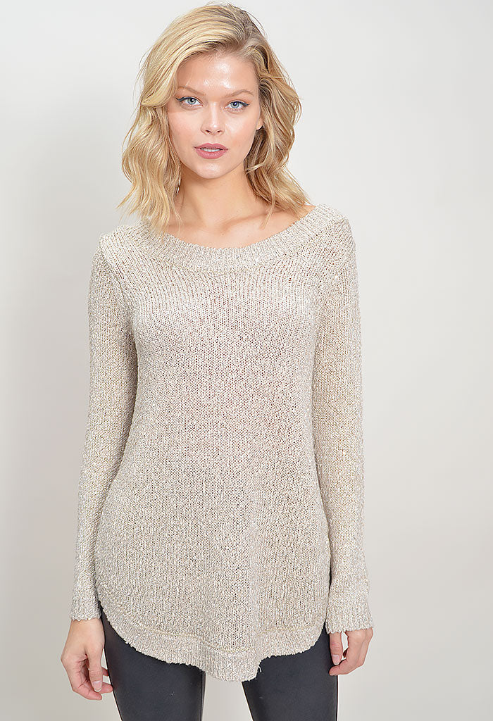 Tis The Sequin Sweater