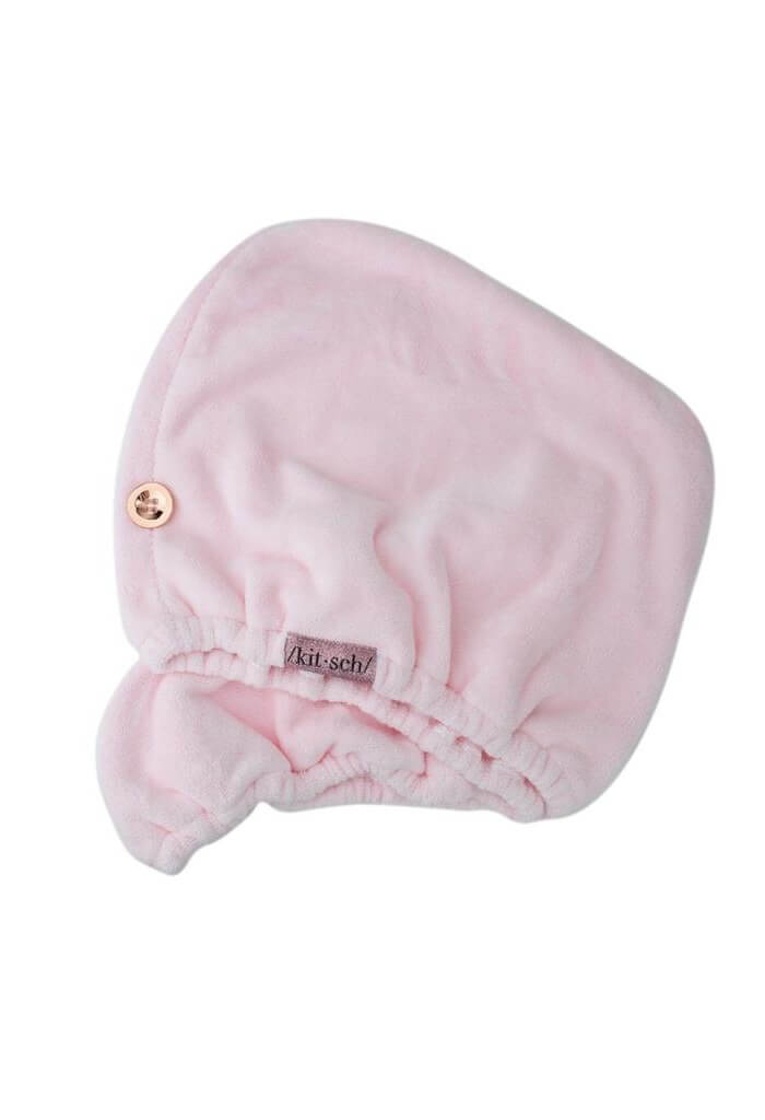 Kitsch Blush Microfiber Hair Towel